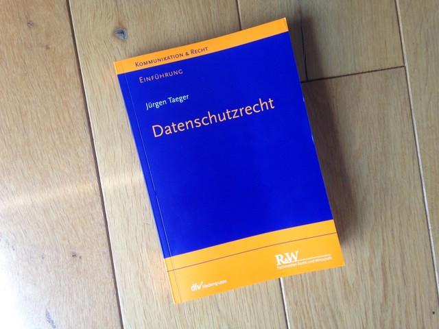 Rezension: Taeger, Datenschutzrecht: Einführung