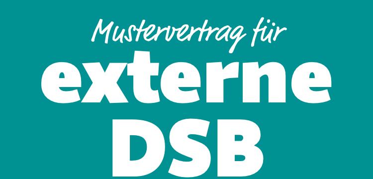 Mustervertrag Für Externe Datenschutzbeauftragte Dsgvo In Zwei