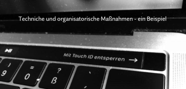 Muster Für Technische Und Organisatorische Maßnahmen Zur