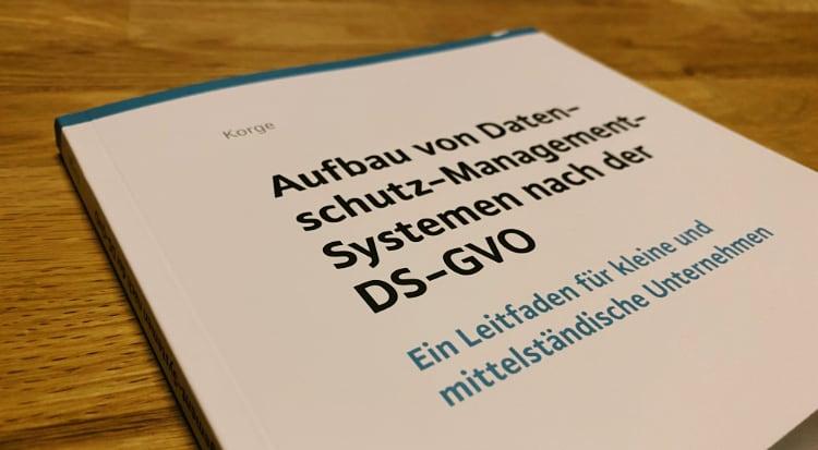Rezension: Aufbau von Datenschutz-Management-Systemen nach der DSGVO